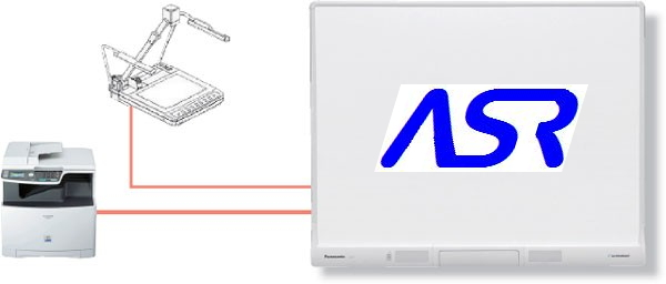 ASR Technology Interactive Whiteboard